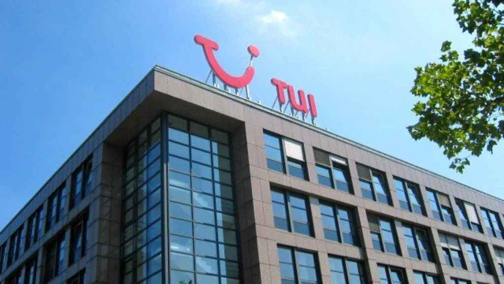 Edificio de Tui en una imagen de archivo.