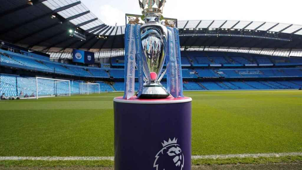 El trofeo de la Premier League