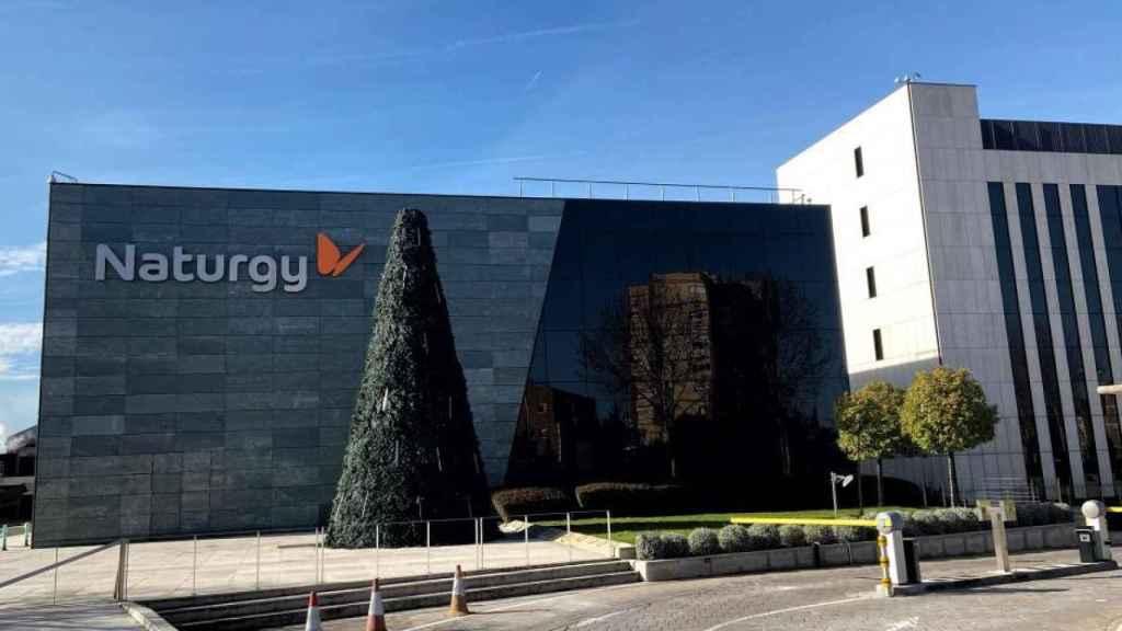 Edificio de la sede de Naturgy en Madrid.