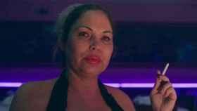 Isabel Torres caracterizada como Cristina 'La Veneno'.