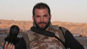 Miguel Temprano ha compaginado durante años su trabajo en televisión con el reporterismo de guerra.