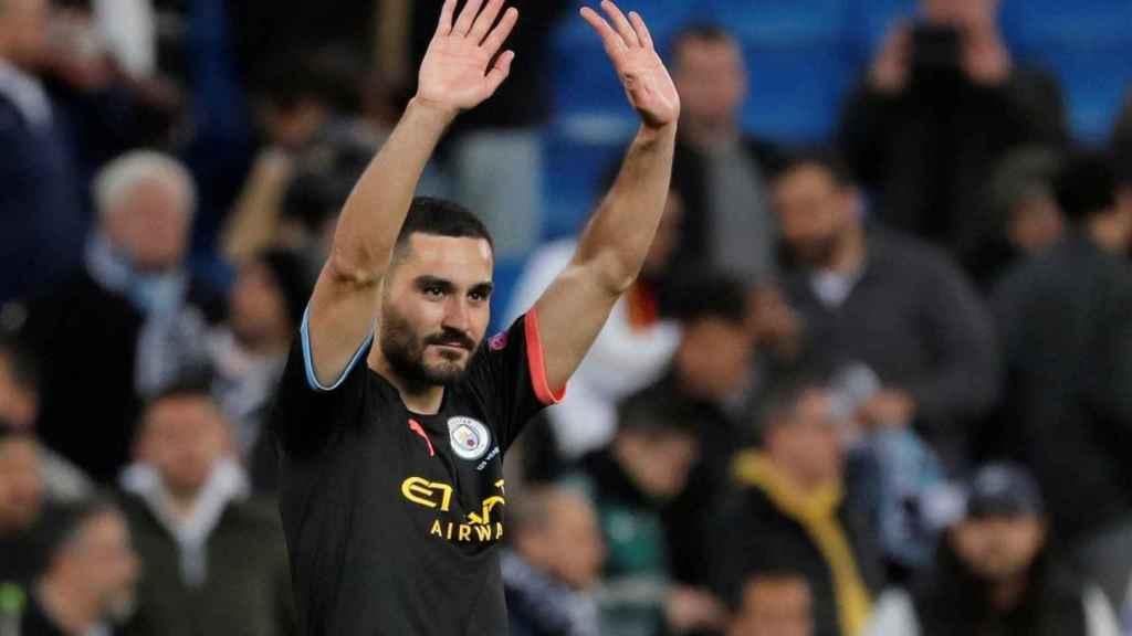 Ilkay Gundogan, jugador del Manchester City