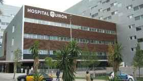 Edificio del hospital Quirón en Barcelona