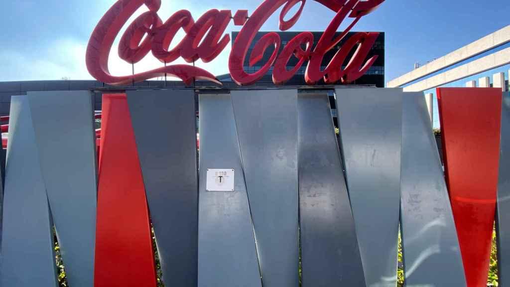Logotipo de Coca-Cola.