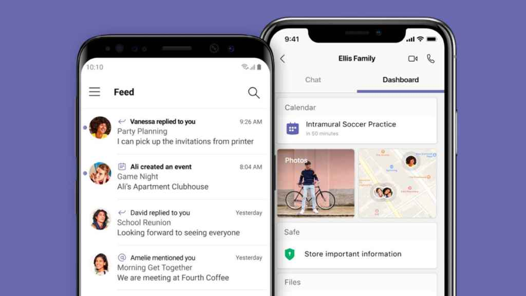 Nueva app de Microsoft Teams for Life.