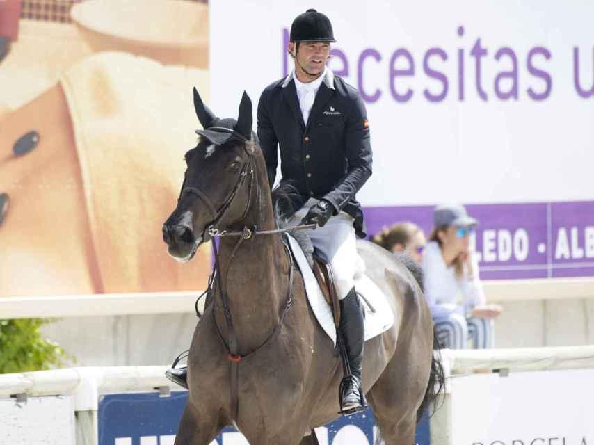José Bono Rodríguez está a cargo de los 73 caballos que se encuentran actualmente en su hípica de Toledo.