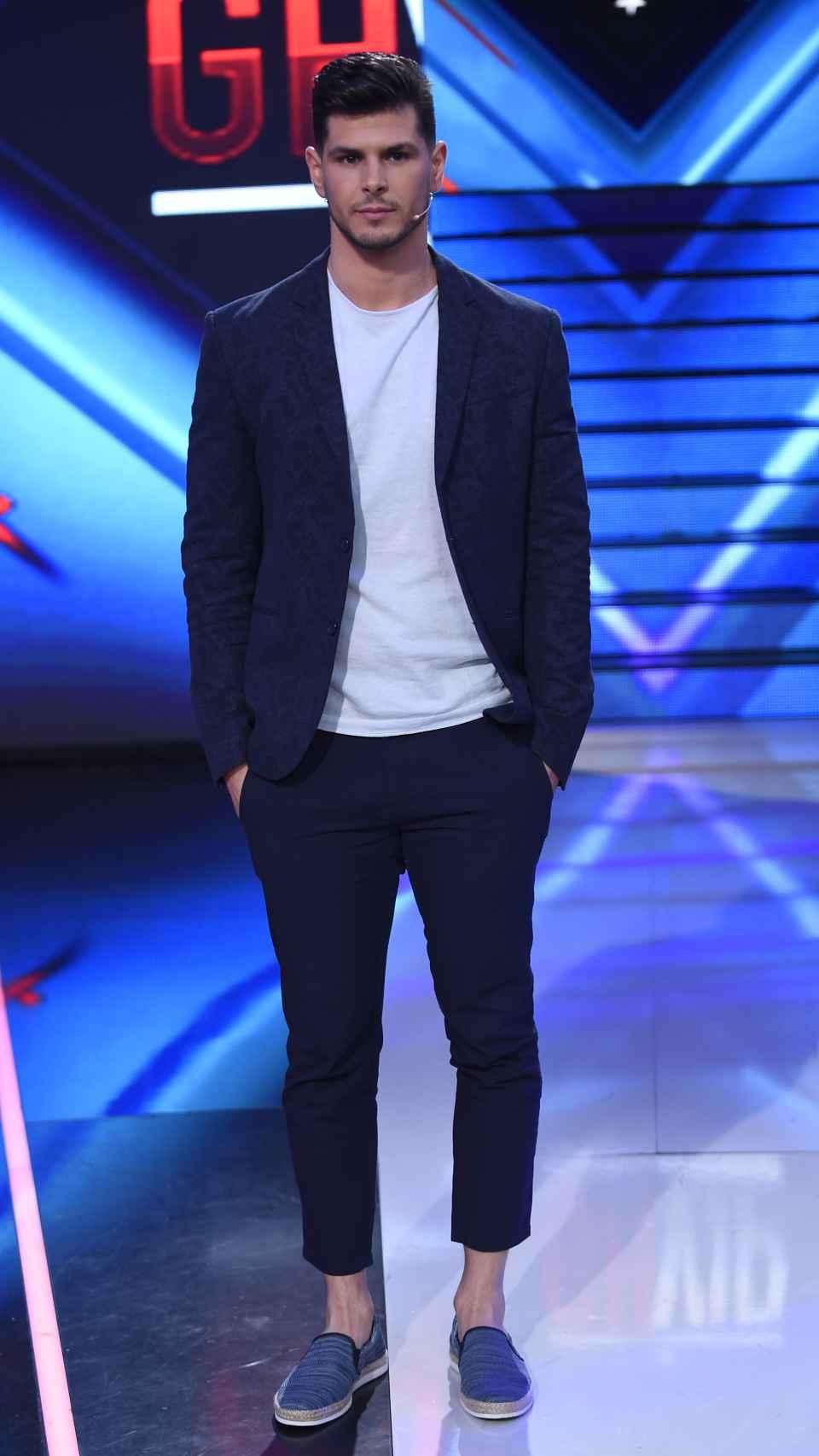 Alejandro Nieto en el plató de 'Gran Hermano VIP 4'.