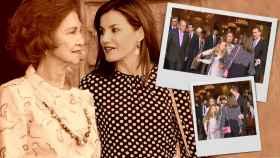 Qué tiempos en los que la pelea entre Letizia y su suegra Sofía era el máximo problema de España