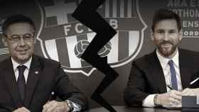 El divorcio Bartomeu - Messi
