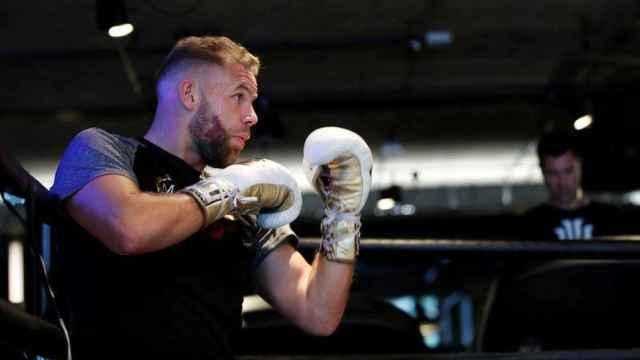 El boxeador británico Billy Joe Saunders
