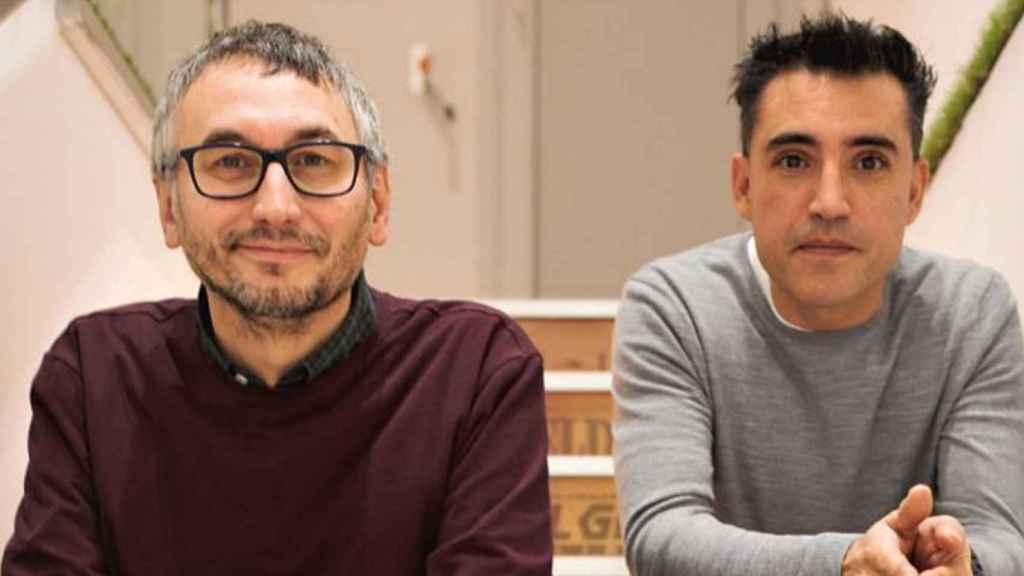 Oscar Ferrero (CEO) y José Luis Queral (director de arte), fundadores de Elite 3D.