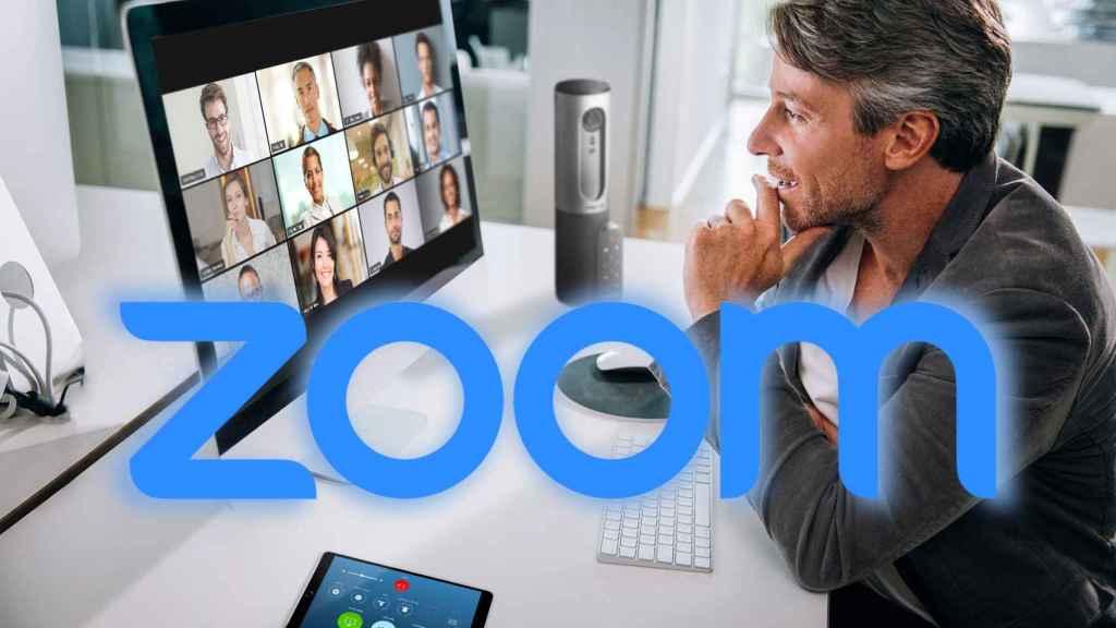 Usuario de Zoom.