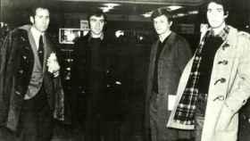 José Antonio Martínez Bayo, el segundo por la izquierda en la foto