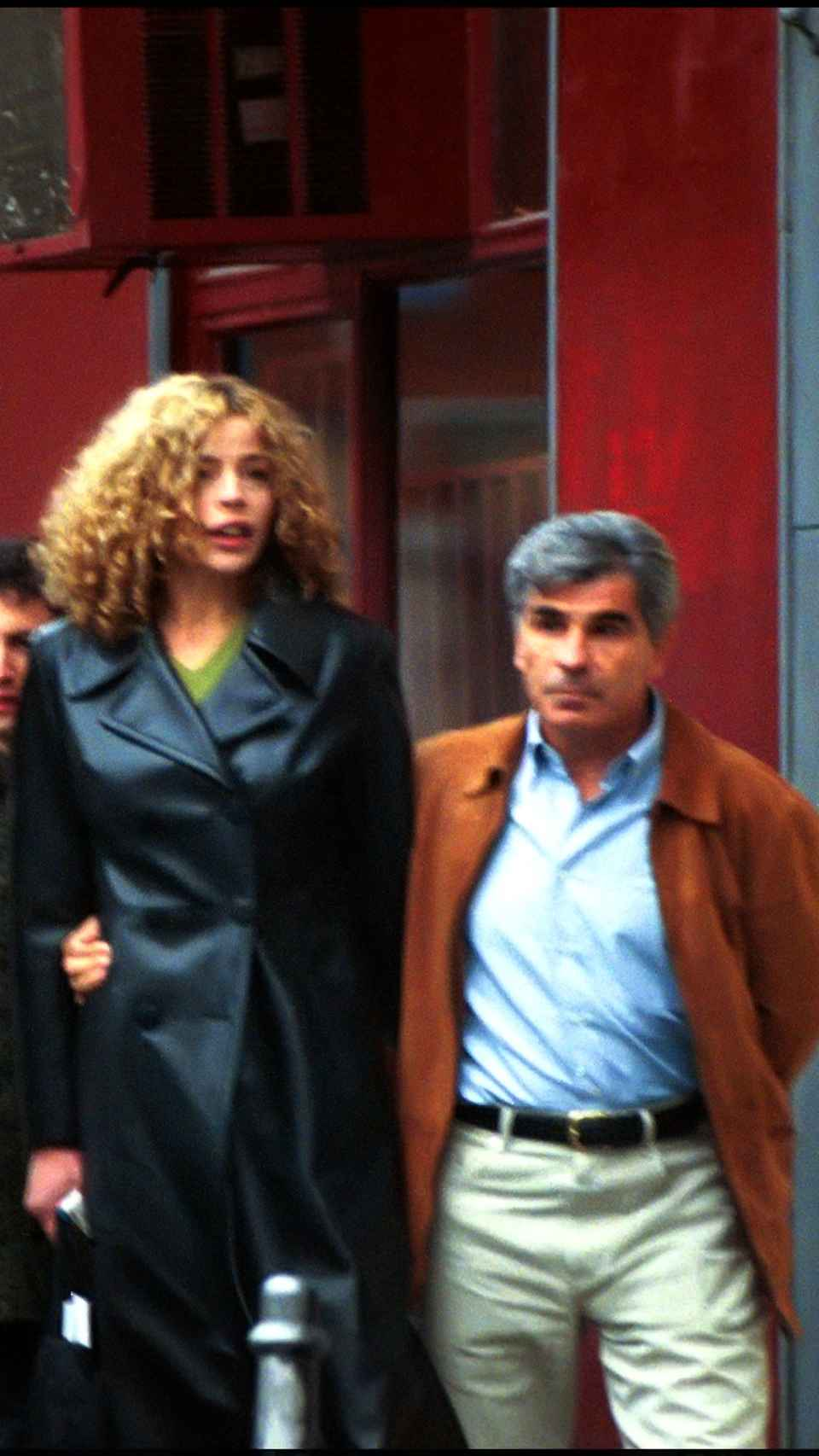 Inma del Moral junto a su entonces pareja, el presentador Pedro Ruiz.