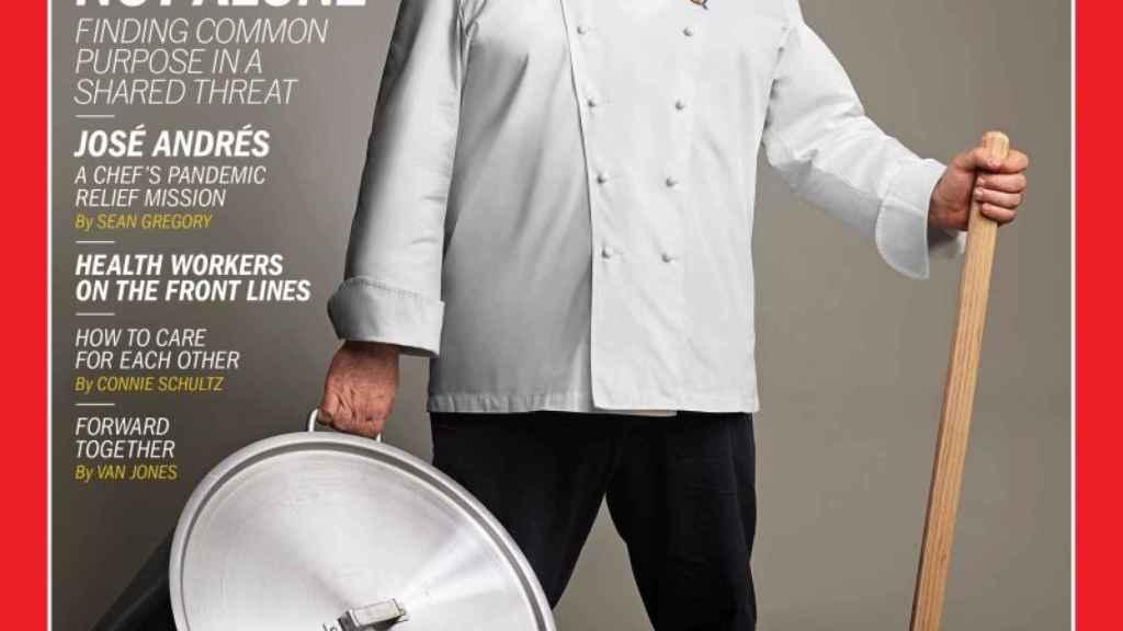José Andrés, portada de Time.