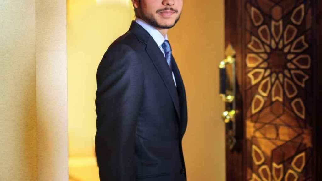 El príncipe Hussein es el heredero al trono de Jordania.