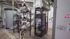 Planta para gas natural en las instalaciones de CNH2 en Puertollano.
