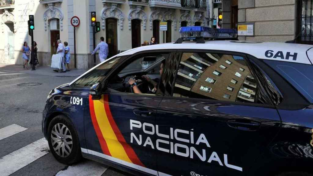 Una patrulla del Cuerpo Nacional de Policía.