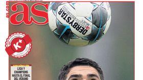 La portada del diario AS (02/04/2020)