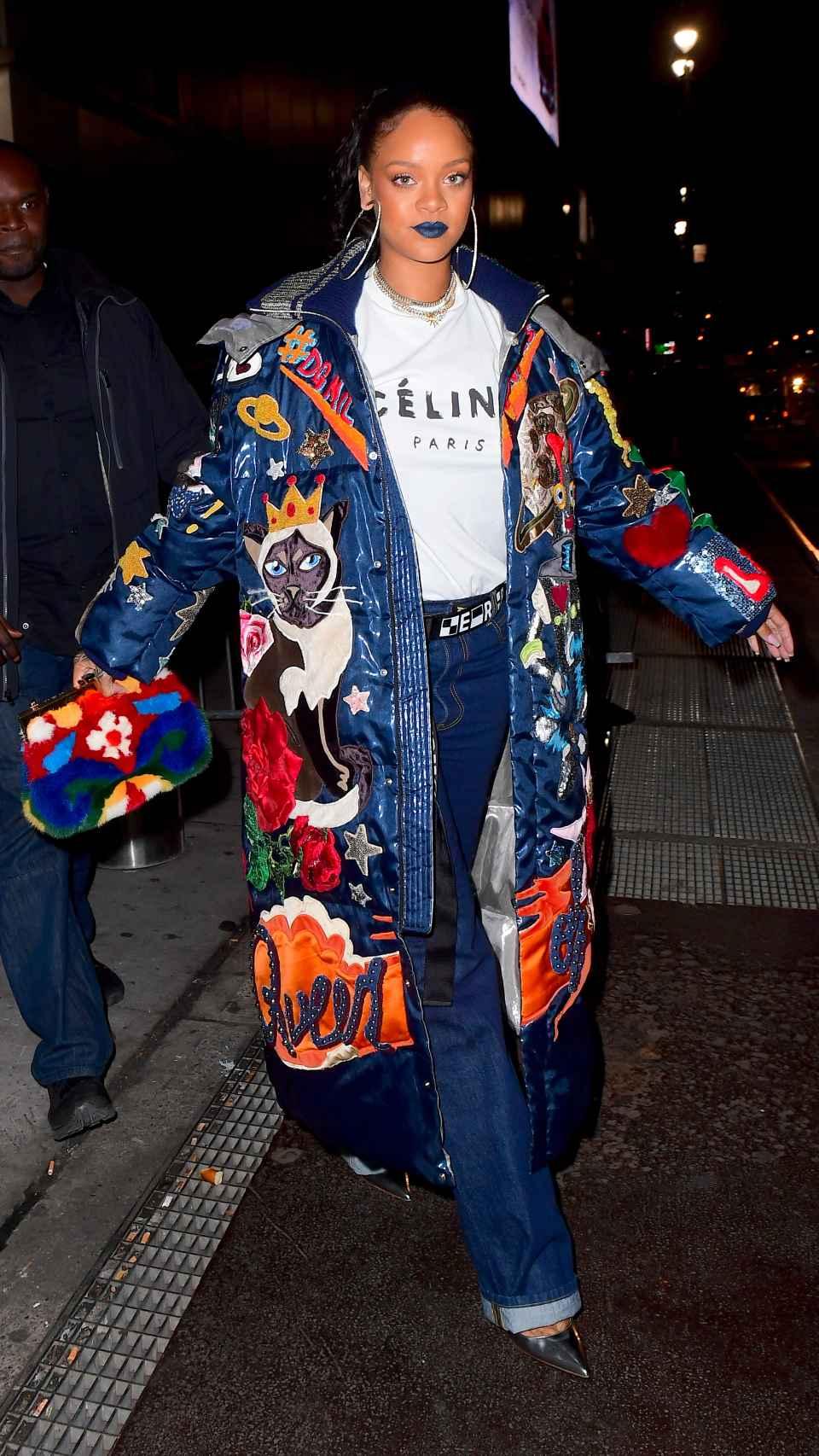 Rihanna por las calles de Nueva York.
