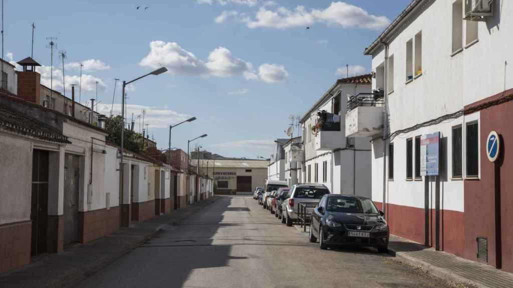 Calle Los Olivos, donde se registró uno de los primeros focos.