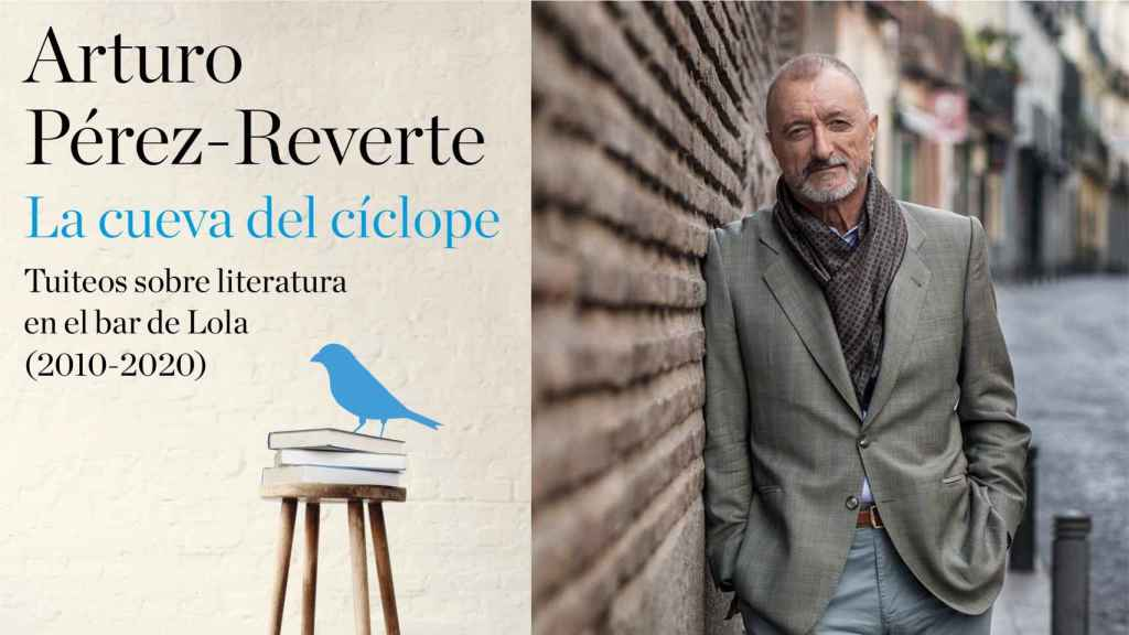 Portada del nuevo libro de Arturo Pérez-Reverte.