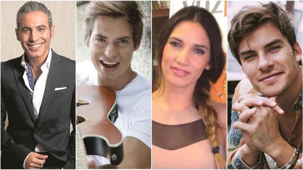 Pitingo, Carlos Baute, India Martínez y Andrés Ceballos.