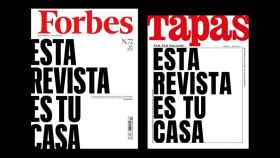 Esta revista es tu casa: Forbes y Tapas comparten portada por primera vez