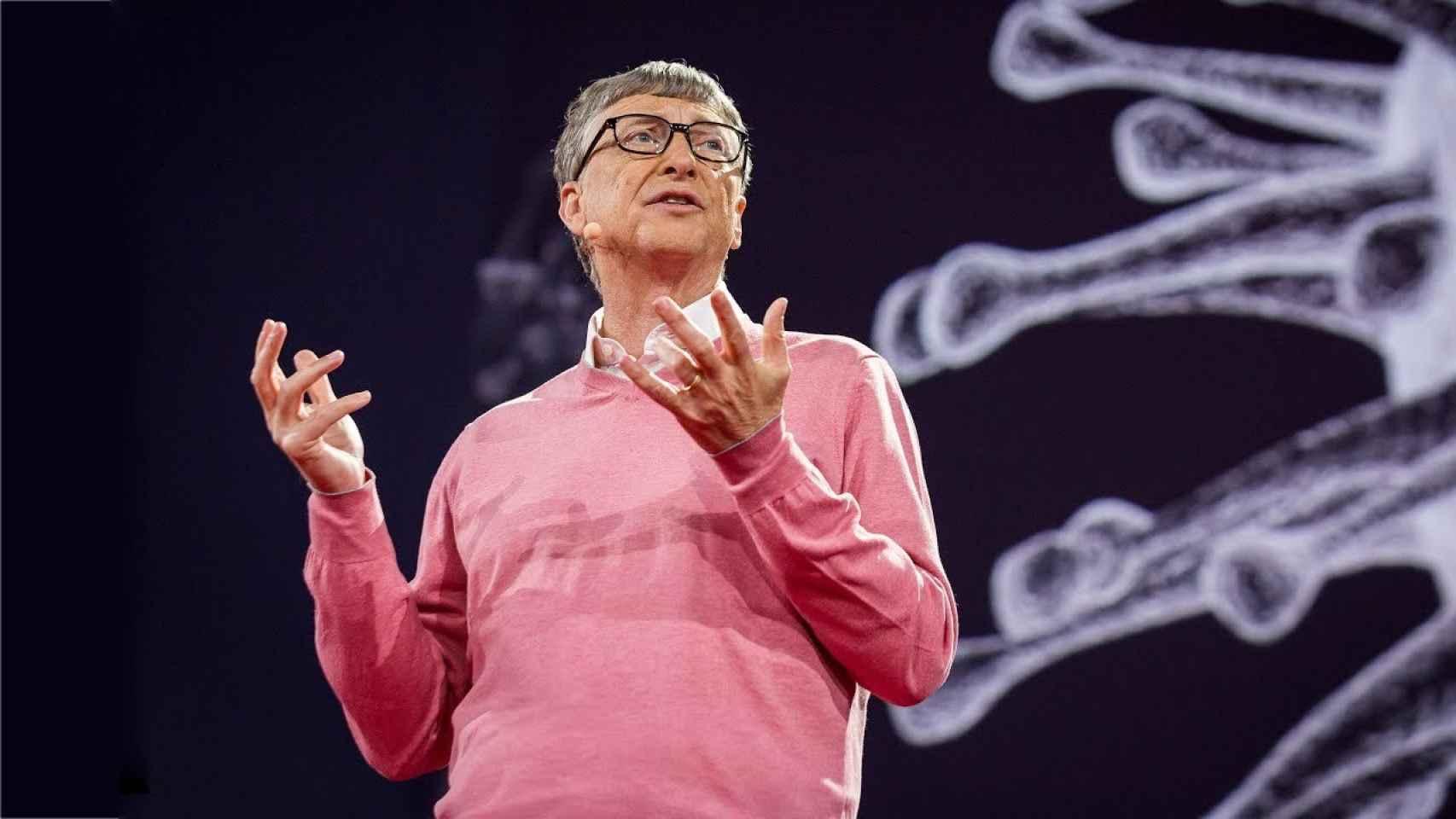Bill Gates en su profética charla TED de 2015