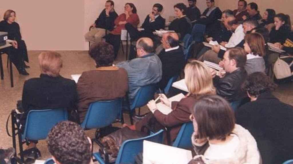 Una de las primeras reuniones del Foro Agenda 21 de La Eliana en el que Fernando participó de manera activa cuando se constituyó.