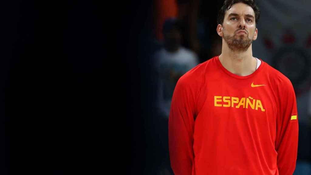 Pau Gasol, en la selección española