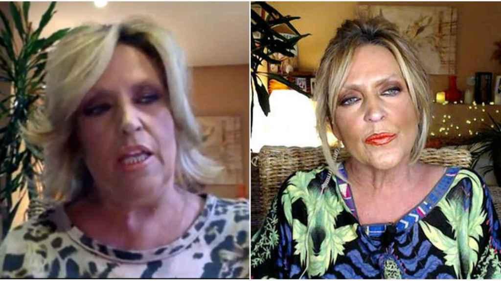 El antes y después en las conexiones de Lydia Lozano.