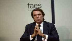 El presidente de Faes, José María Aznar, en una imagen de archivo.