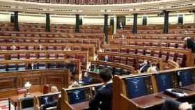 Imagen de la sesión del Congreso que convalidó la declaración de estado de alarma./