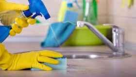 Productos de limpieza.
