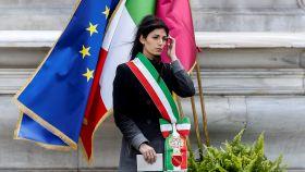 Virginia Raggi, alcaldesa de Rom