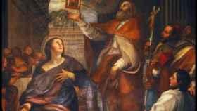 Santa Gala de Roma.