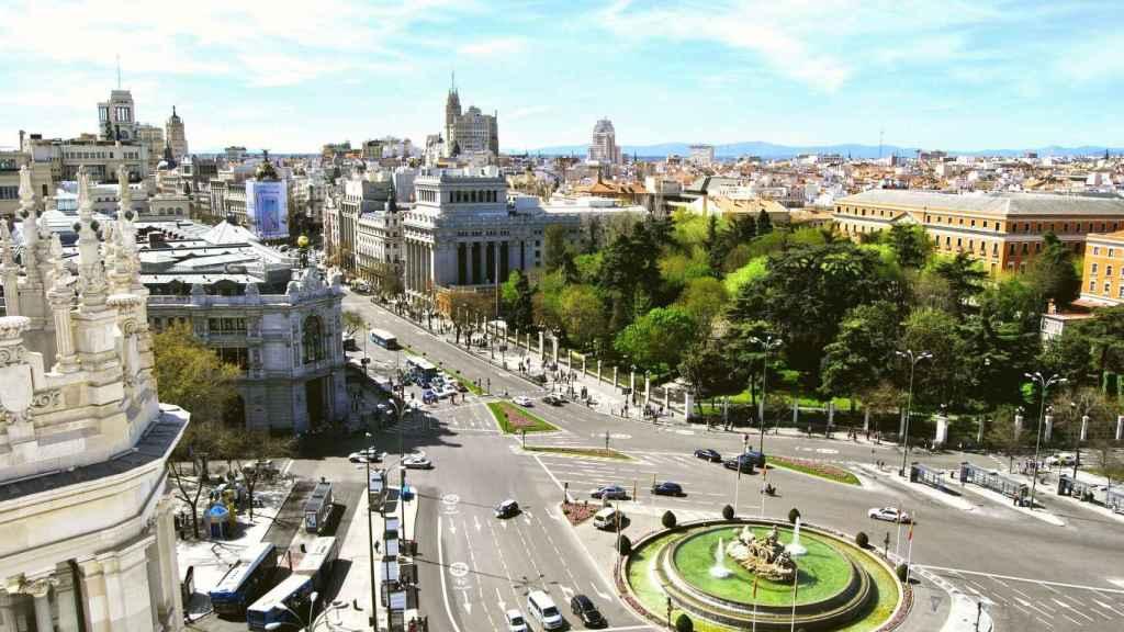 Plaza de Cibeles de Madrid.