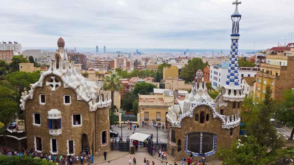 Parque Güell, Barcelona.