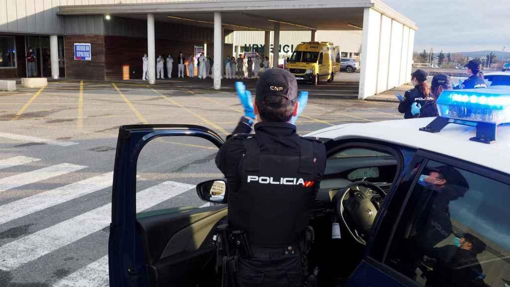 Las urgencias de un hospital español en confinamiento.