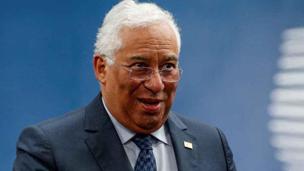 António Costa, primer ministro de Portugal.