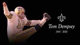 Tom Dempsey, exjugador de los New Orleans Saints