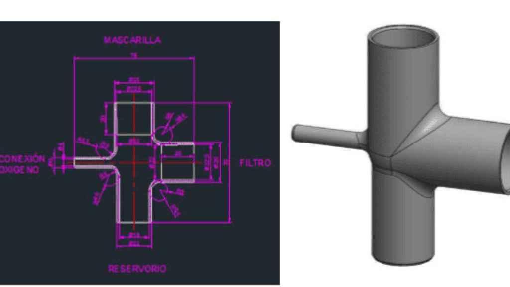 Pieza 3D impresa por HP