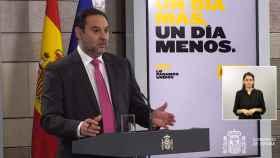 José Luis Ábalos, ministro de Transportes, en la Moncloa.