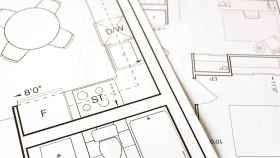 Imagen de los planos de una vivienda.