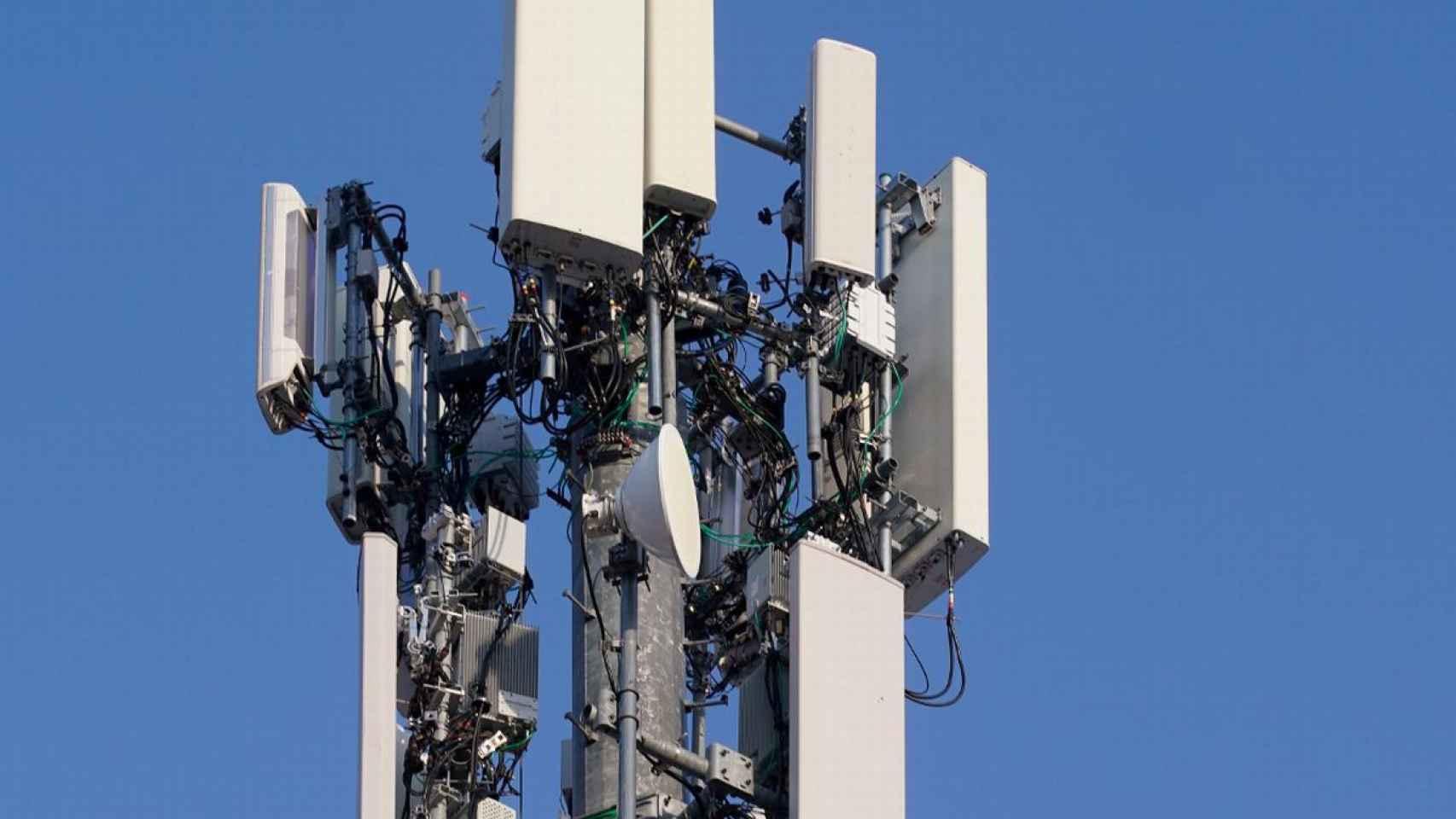 Torre 5G, en una imagen de archivo.