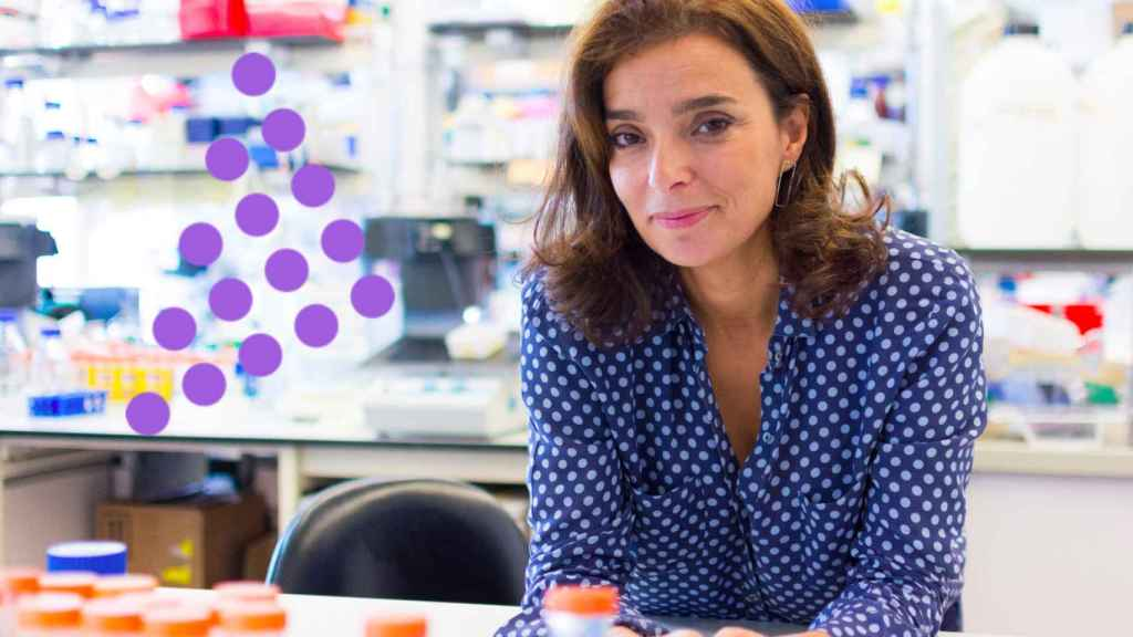 La científica portuguesa, María Manuel Mota.