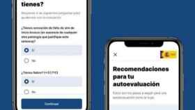App de autodiagnóstico del Gobierno
