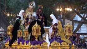 Imagen de una procesión emitida en RTVE