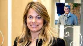 Carla Goyanes en un montaje de JALEOS junto a su tío, Alfonso Cortina, fallecido por coronavirus.